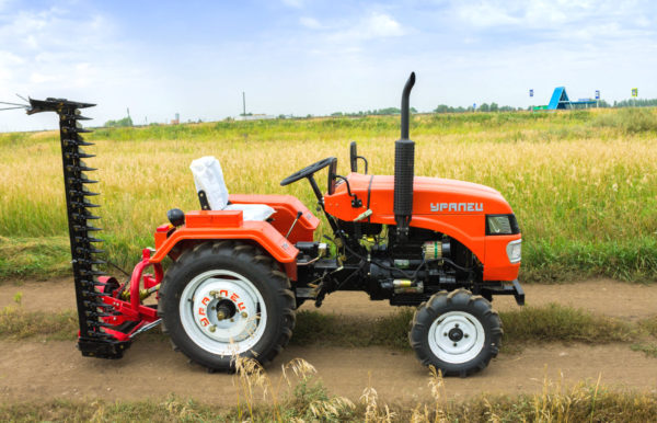 The mini tractor Uralets price