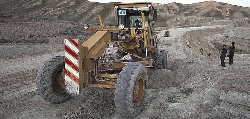 Автогрейдеры для строительных работ