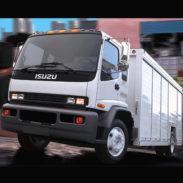 Малотоннажный грузовик Isuzu NQR75