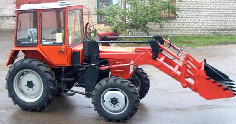 Пример трактора Т-25