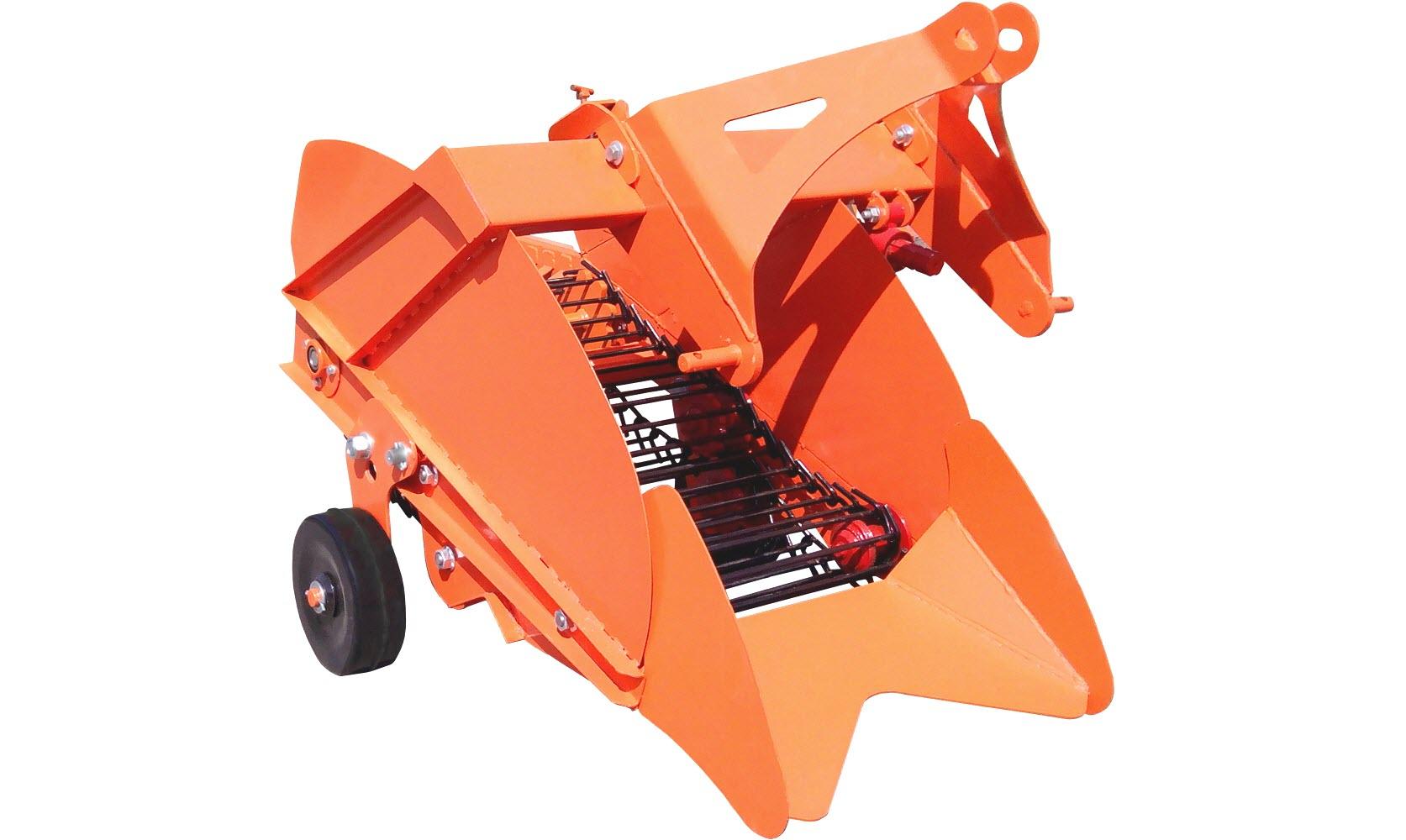 Картофелекопатель для мини-трактора