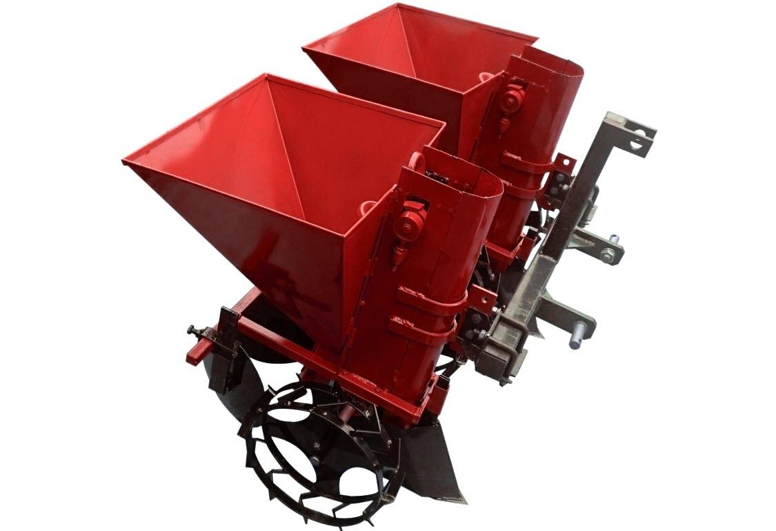 Навесное оборудование картофелесажалка для минитрактора